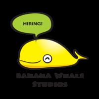 Thumb banana whale logo hiring transparent