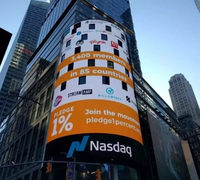 PenguinSmart on the board of NASDAQ stock exchange!