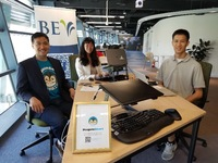 Working out of Taipei office at Taiwan Tech Accelerator
