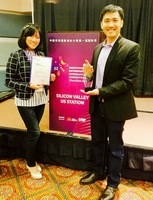 Winning #1 in Internet Services category (North America) in global startup competition