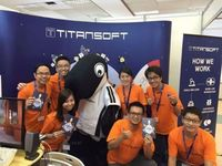 Titansoft staff at 2016 Career Fair