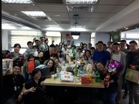 White Elephant Party at Taipei Office