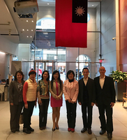 Warren and Erick at Taiwan Econmic and Cultural Office in New York with Mandarin  Language Professors and Staff