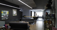 Office: Nice and cozy environment for everyone to enjoy!