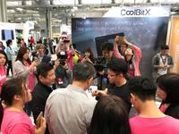 Taipei Mayor Ke with CoolBitX!